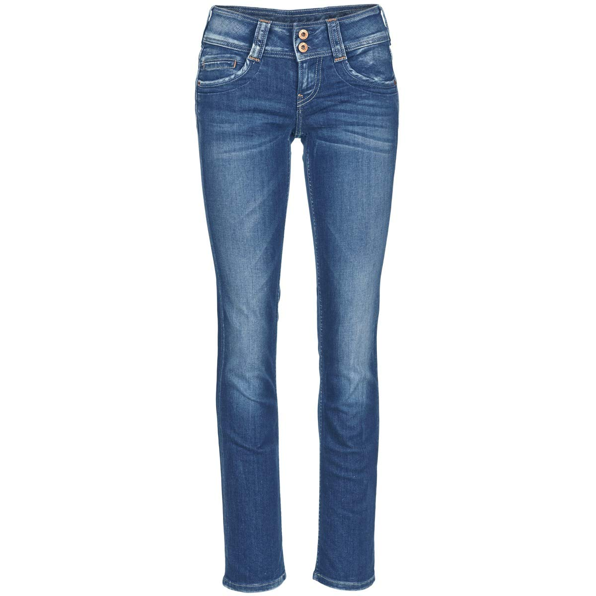 bluee   D45 Pepe Jeans Women's Gen Jeans