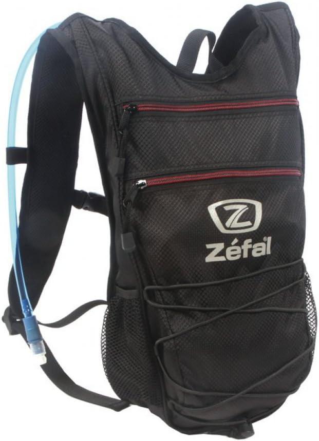 Mochila hidratante Zefal Z Light Hydro S con bolsa bebida 2 l. negra: Amazon.es: Deportes y aire libre