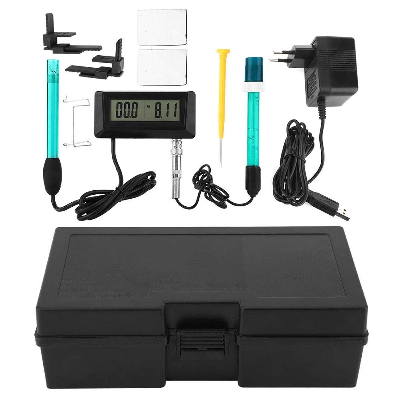 Probador de calidad del agua Detector multiparamétrico de calidad del agua Monitor de PH EC monitorea continuamente Probador de PH(European standard 220V)