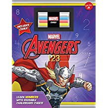 Marvel's Avengers Chalkboard 123: Learn numbers with reusable chalkboard pages!