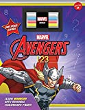 #9: Marvel's Avengers Chalkboard 123: Learn numbers with reusable chalkboard pages!