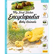 My First Sticker Encyclopedia - Baby Animals