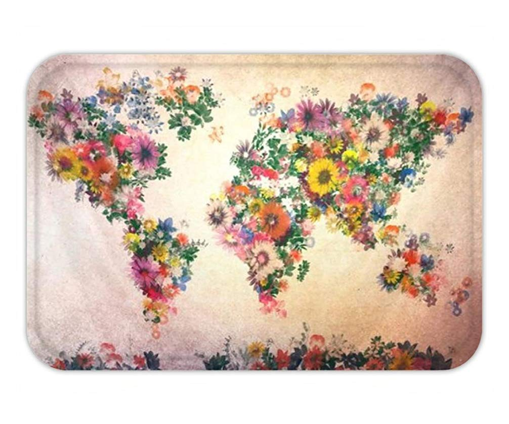 Ntpclsuits Doormat Elephant Tree of Life Floral Hippy Gypsy ...