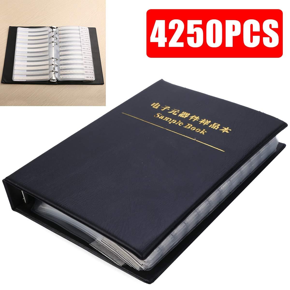 Maslin 0805 1% SMD Resistor Sample Book 170valuesx25pcs 4250pcs Resistor Kit 0ohm-10M