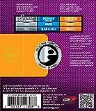 Elixir Strings 80/20 Bronze 8-String Acoustic Guitar Strings w NANOWEB Coating, Baritone (.016-.070)