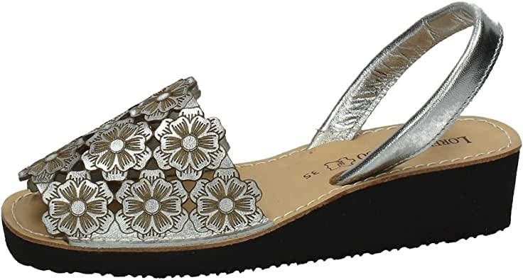 LORENA MASSÓ 515310 IBICENCA Menorquina Mujer Sandalias: Amazon.es: Zapatos y complementos