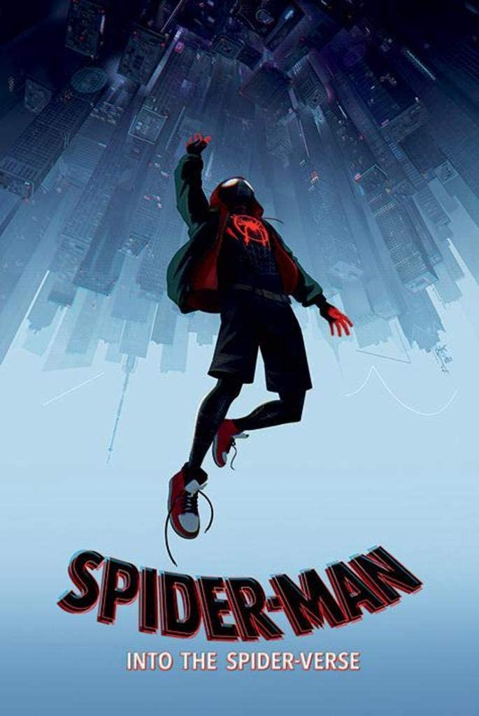 Pyramid International Spiderman Into The SpiderVerse Fall Movie Poster 24x36 inch