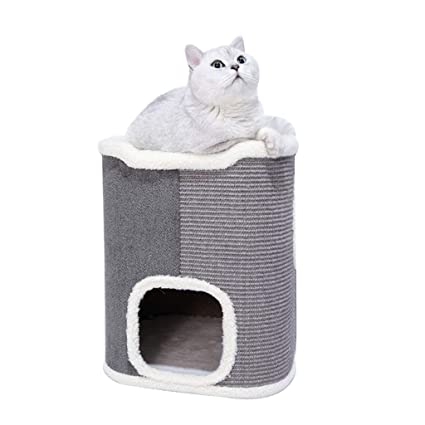 Disaud Gatitos Y Mascotas PequeñAs áRbol Rascador para Gatos Cama ...