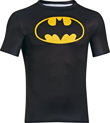 5c34f84568653 Under Armour Playera Batman para Hombre  Amazon.com.mx  Deportes y ...