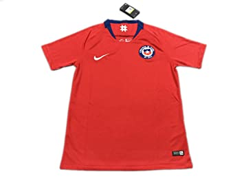 Camiseta de fútbol TI Chile Home Red 2018 World Cup, Medium