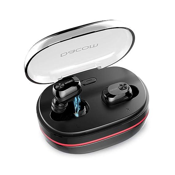 62bead5528b True Wireless Earbuds,Dacom Best TWS Bluetooth Earphones Mini in-Ear Bass  Headphones with