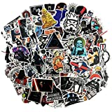 100 Pcs Star Wars Sticker Pack,Unique Cool Stickers Notebook Guitar Skateboard Travel Stickers Waterproof