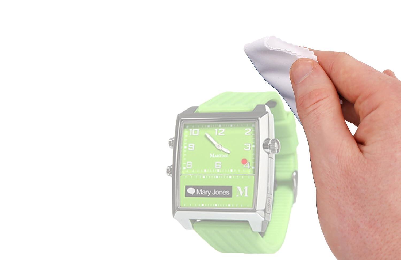 Duragadget chiffon doux antistatique pour écrans de montre connectée Martian G2G, Passport, Victory, Sony SmartWatch & Smartwatch 2 SW2: Amazon.fr: High- ...