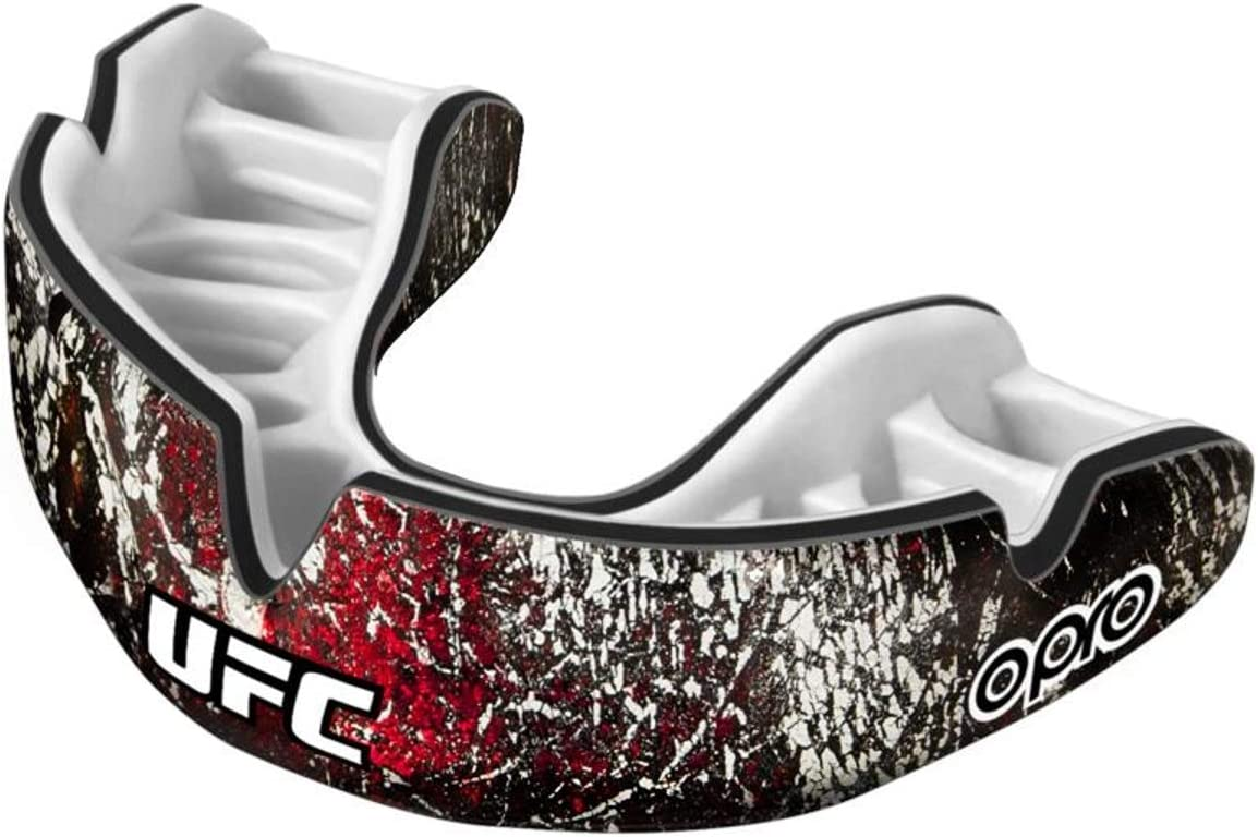 MMA Hockey and Other Contact Sports- Includes Dental Warranty Gum shield for Rugby OPRO Power-Fit Mouthguard