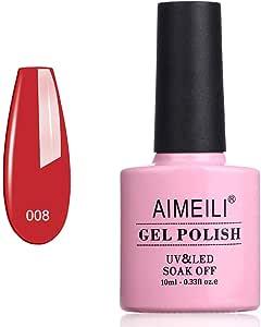 AIMEILI Soak Off UV LED Gel Nail Polish - Hollywood (008) 10ml