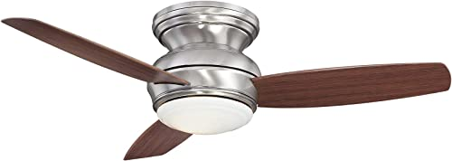 Minka-Aire F593L-PW Tradtional Concept 44 Inch Flush Mount Ceiling Fan