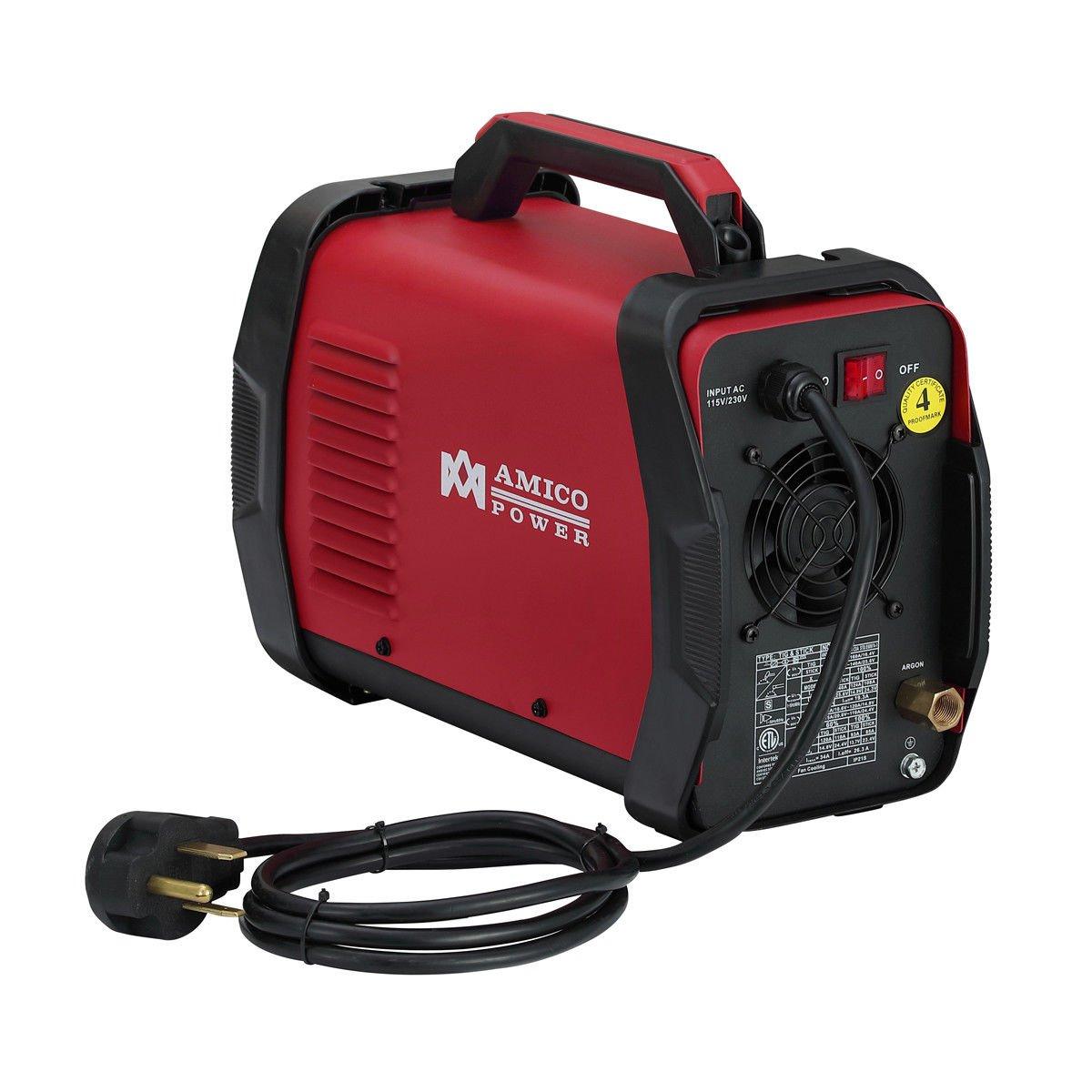 160 Amp HF TIG Torch Stick Arc Dc Inverter Welder TIG-165 110V//230V Dual Voltage Welding