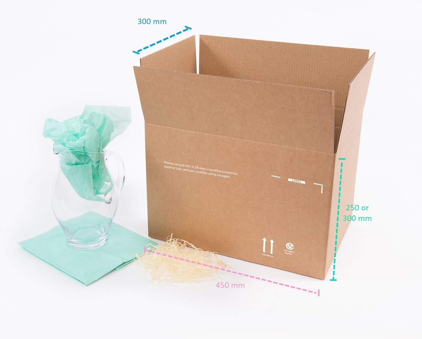 Medium Cardboard Box - Strong, Variable Height (pack of 20) Smurfit Kappa PSM2B