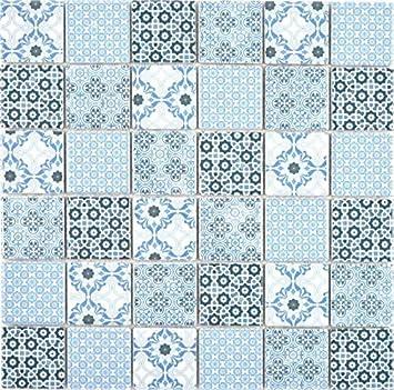 Mosaikfliese Transluzent Edelstahl schwarz Verbund Glasmosaik Crystal Stahl schwarz Glas MOS67-GV478/_f 10 Mosaikmatten