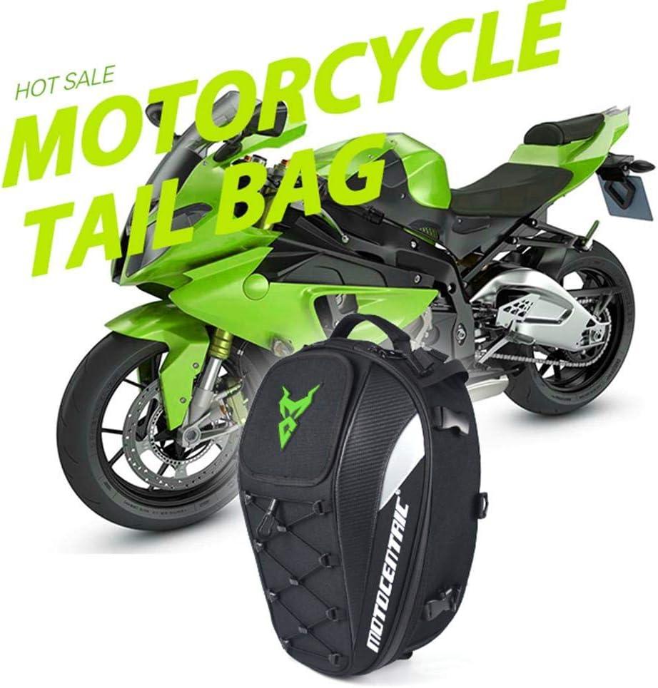 Hedear Nouveau Sac de Queue de Moto Multifonctionnel imperm/éable Durable Sac de si/ège de Moto arri/ère Haute capacit/é Sac /à Dos de Motard de Moto