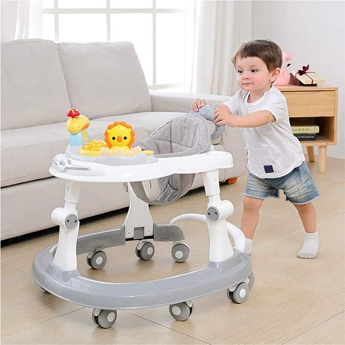 Andadores Caminador para bebés, antivuelco Multifunción Rollover ...