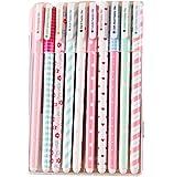 JUNGEN Pinceaux Stylo-bille Différentes Couleurs Crayons Pastel 12