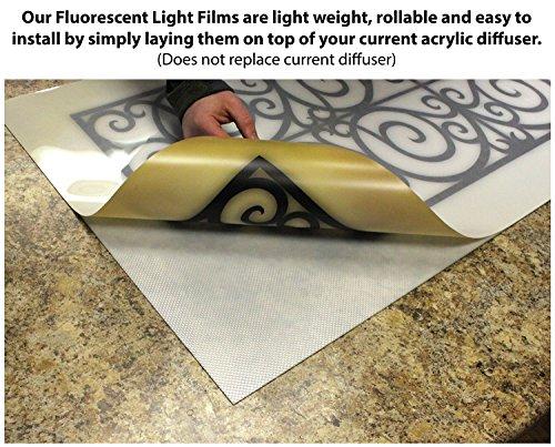 Reef 2 2ft X 4ft Drop Ceiling Fluorescent Decorative