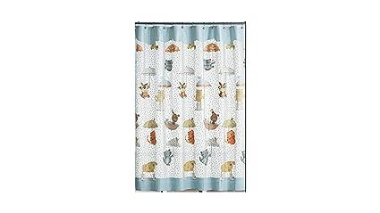 Amazon Saturday Knight Raining Cats And Dogs Shower Curtain