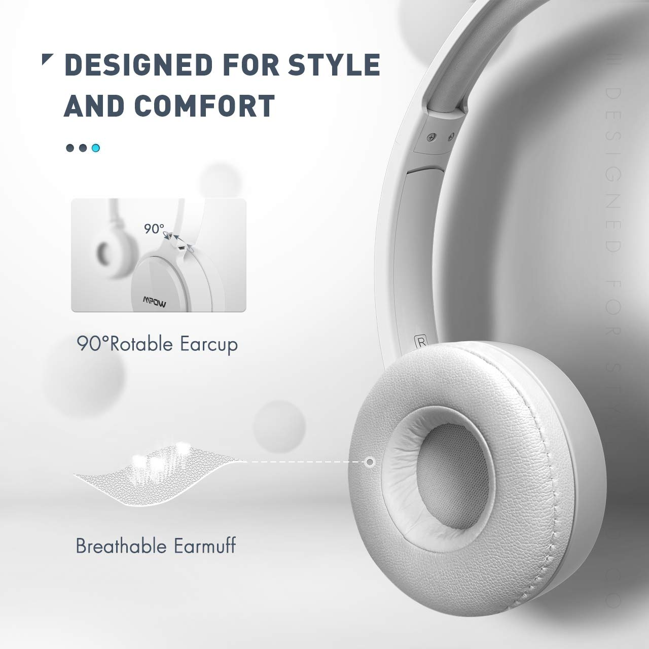 Webinar Lightweight PC Headset Wired Headphones Call Center Business Headset for Skype Phone Mpow 071 USB Headset// 3.5mm Computer Headset with Microphone Noise Cancelling