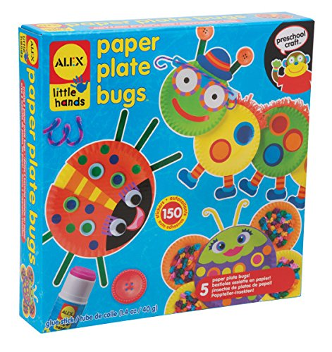 ALEX Toys Little Hands Paper Plate Bugs (Alex Projects For Kids)