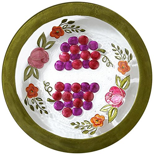 Demdaco Silvestri Bella Vita Grapes Bowl