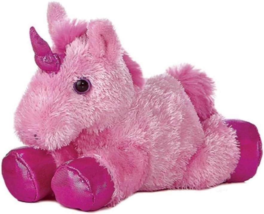 Pink SG/_B00KRO6UBW/_US Aurora 8 Mini Flopsie Plush Unicorn