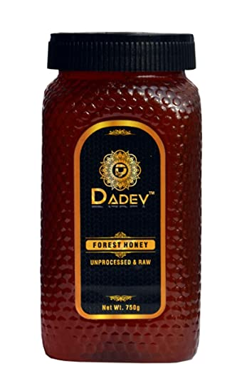 DADEV Organic and Raw Honey-750gm