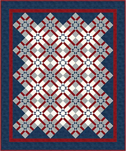 Shadow Play Flannel Our Stars Quilt Kit Maywood Studio