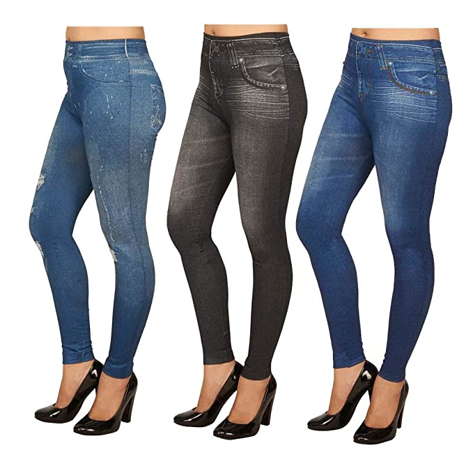 big discount sale retail prices select for authentic Aiyra SSK Women's Skinny Jeans Look Jegging - Small Blue ...