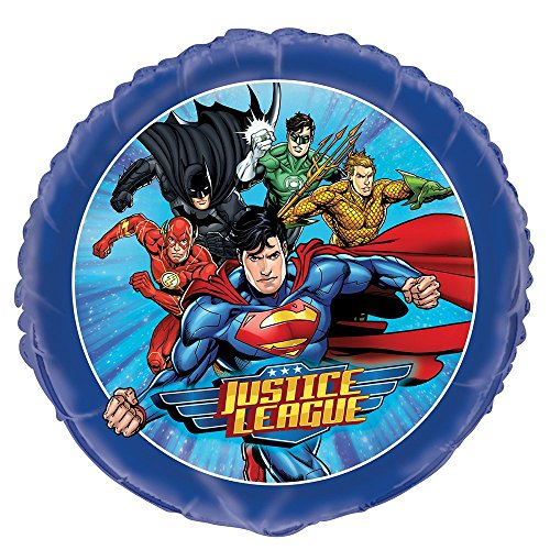 "justice+league Products : 18"" Foil Justice League Balloon"