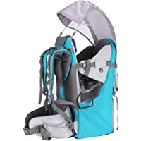 Baby Toddler Hiking Backpack Carrier Camping Child Carriers with Rain Cover Stand Child Kid Sun shade Visor Shield…