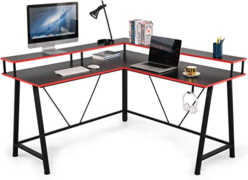 EROMMY L Shaped Computer Desk