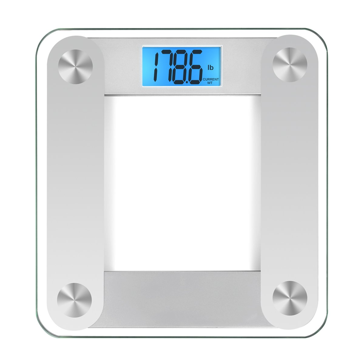 Batteries for bathroom scales - Amazon Com Amir Digital Body Weight Scale 400lb 180kg Precision Electronic Bathroom Scale With Large Lcd Display 3 Units Auto Calibrated Auto Off
