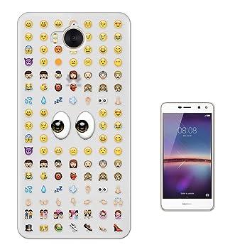 coque y6 2017 huawei emoji