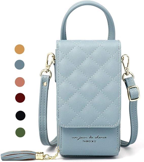 Women Cell Phone Wallet Pocket Purse Shoulder Bags Pouch Case Handbag Crossbody