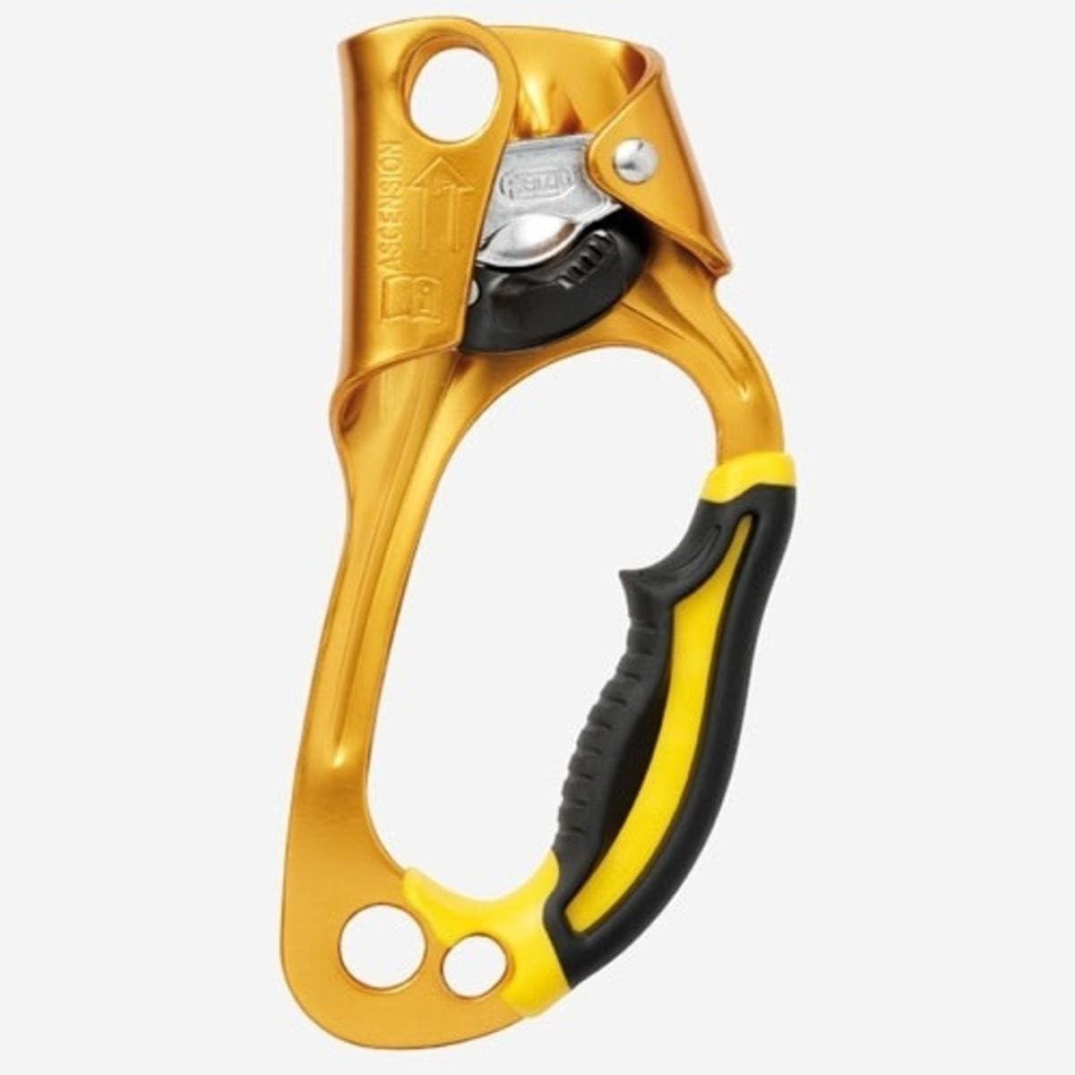 PETZL Seilklemme Ascension Rechts - Bloqueador para Escalada, Color Amarillo
