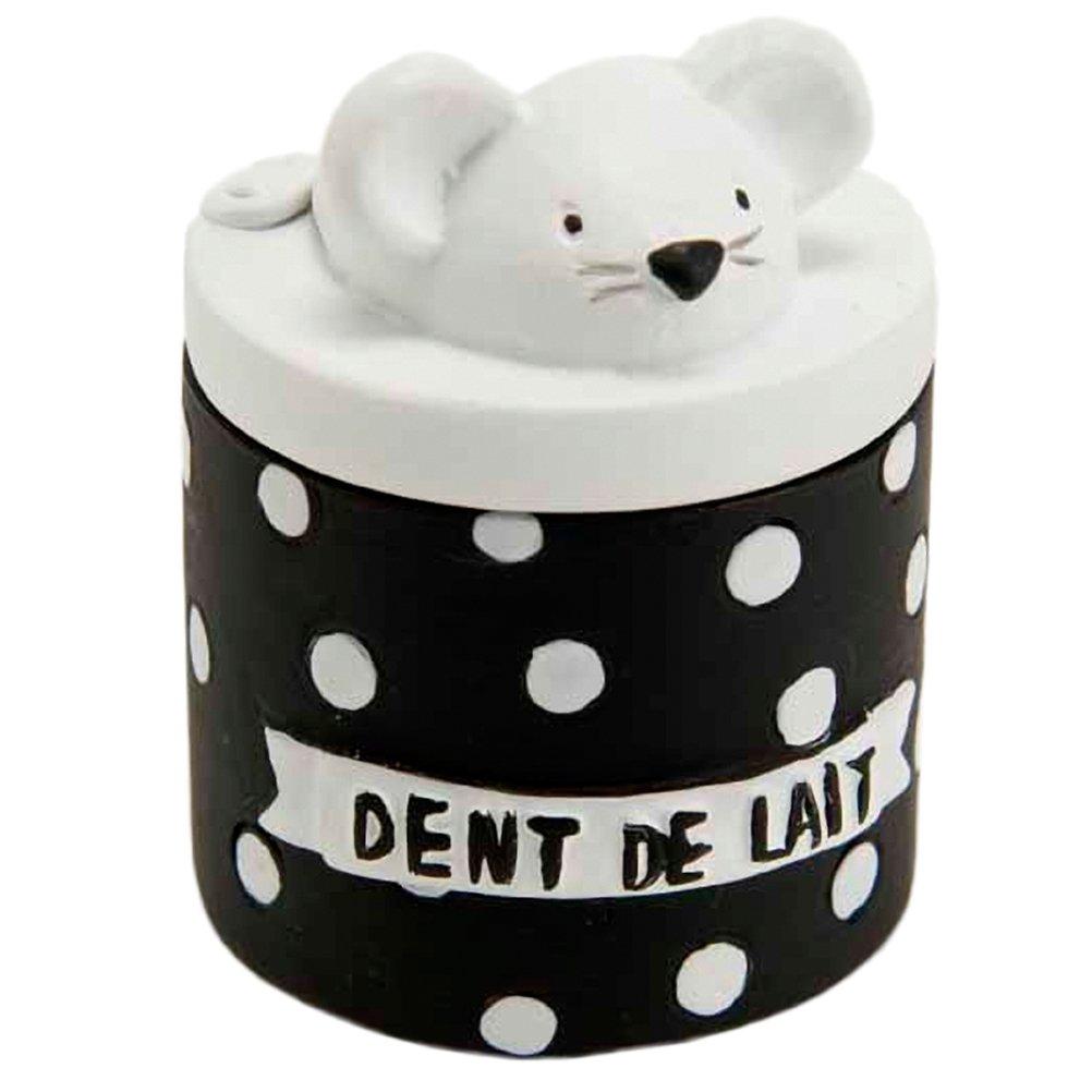 Petite boite à dents de lait - Noir et blanc Funny Pets