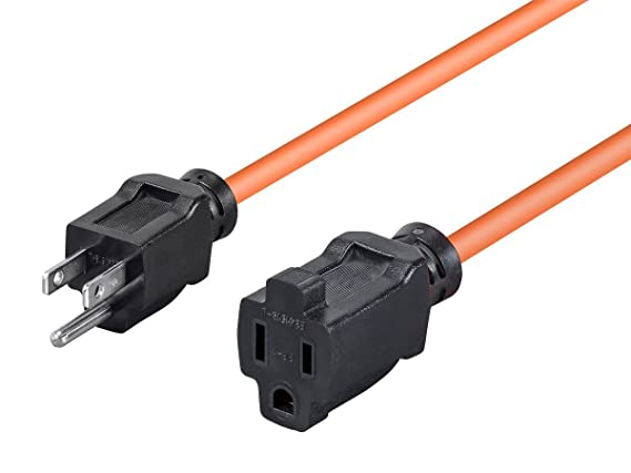Review Monoprice 50ft 16AWG Orange