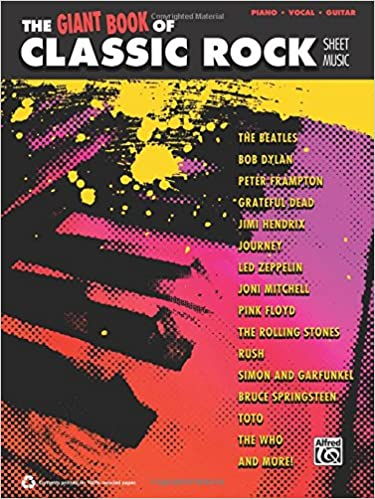The Giant Classic Rock Piano Sheet Music Collection Pianovocal
