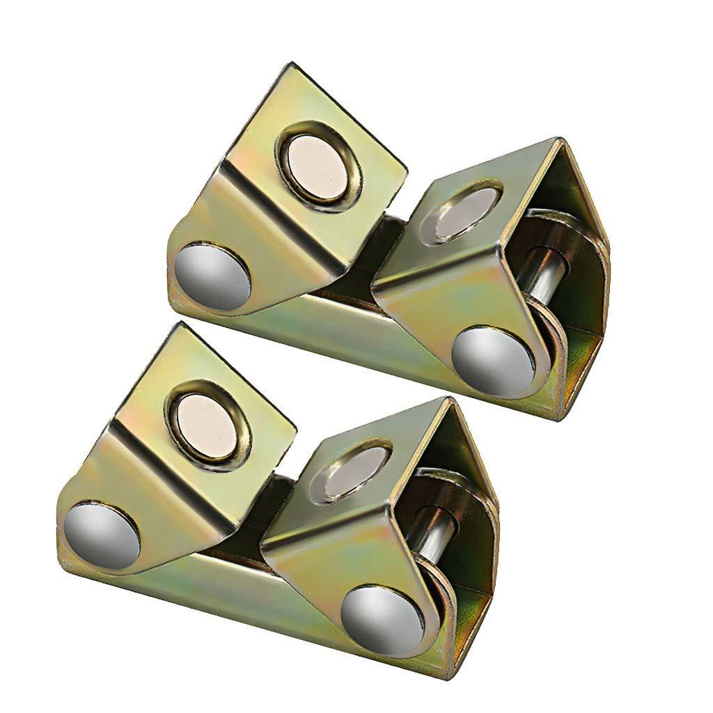 V-Welding Base Fixture V-Pads Tab Holders for Tack Welding Weite 2-Pack Adjustable Magnetic Tab Holder Welding Fixture Clamps Multicolor