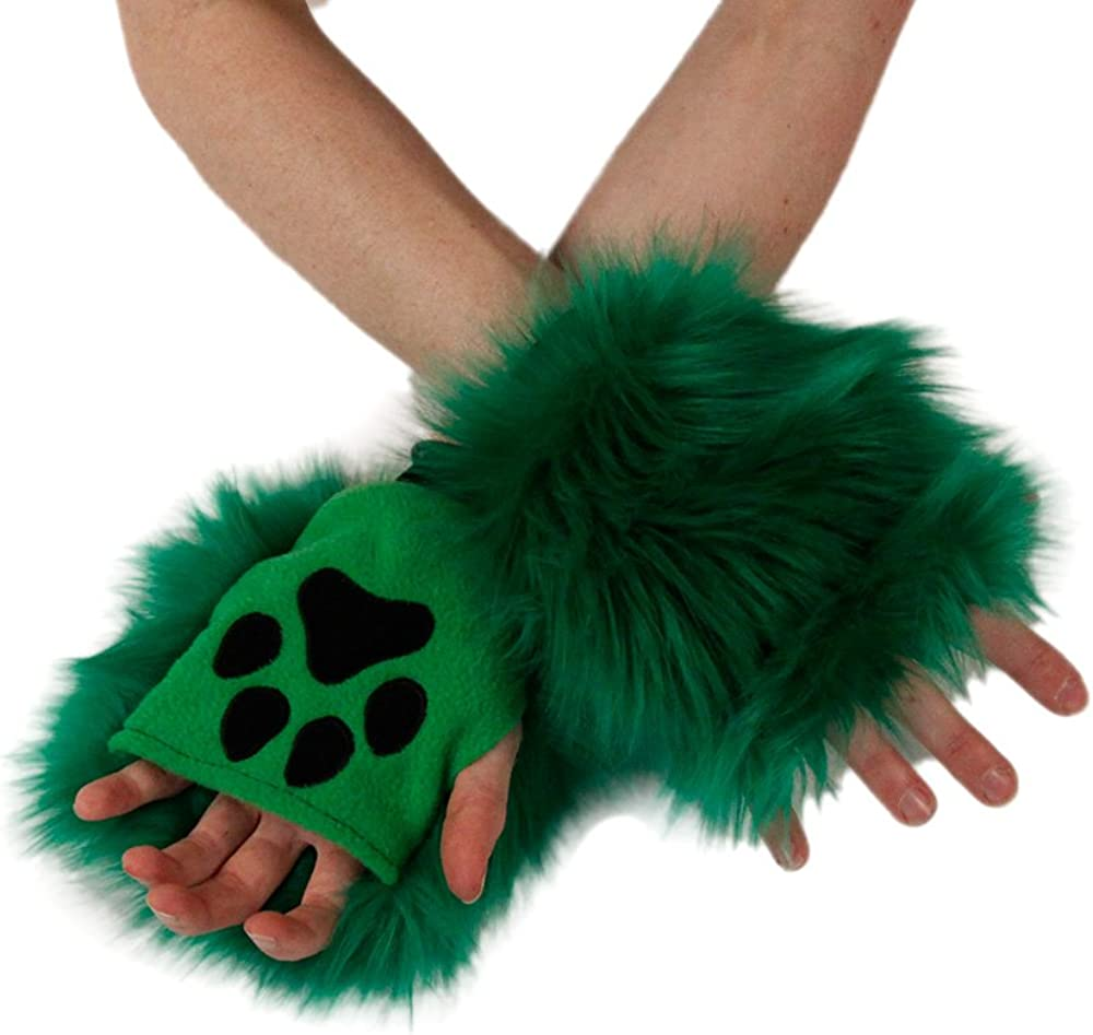 Pawstar Color Theme Pawlets Fingerless Glove Paws Furry Cat Fox Cosplay