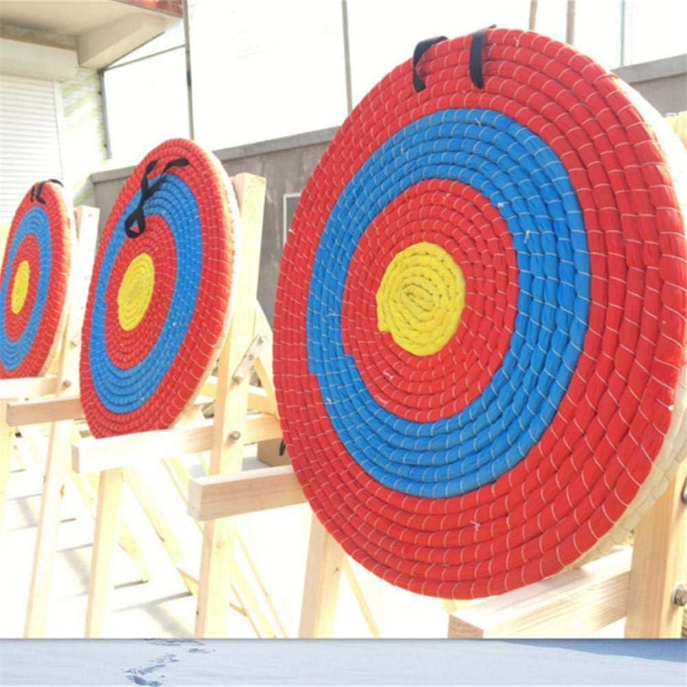 Lifesongs strohscheibe f/ür bogenschie/ßen,Durchmesser 55 cm Leichtgewicht f/ür Outdoor Sportarten