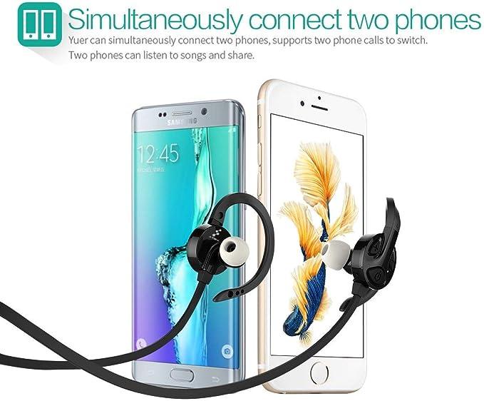 ATEX 4.1 Auriculares Bluetooth – cancelación de ruido inteligente ...