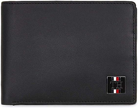 Tommy Hilfiger TH Plaque Extra CC and Coin Black: Amazon.es: Zapatos y complementos